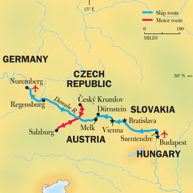 Danube River Cruise From Budapest Gems Of The Danube National