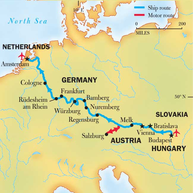 A European River Cruise 2019 2020 Jewels Of Europe National