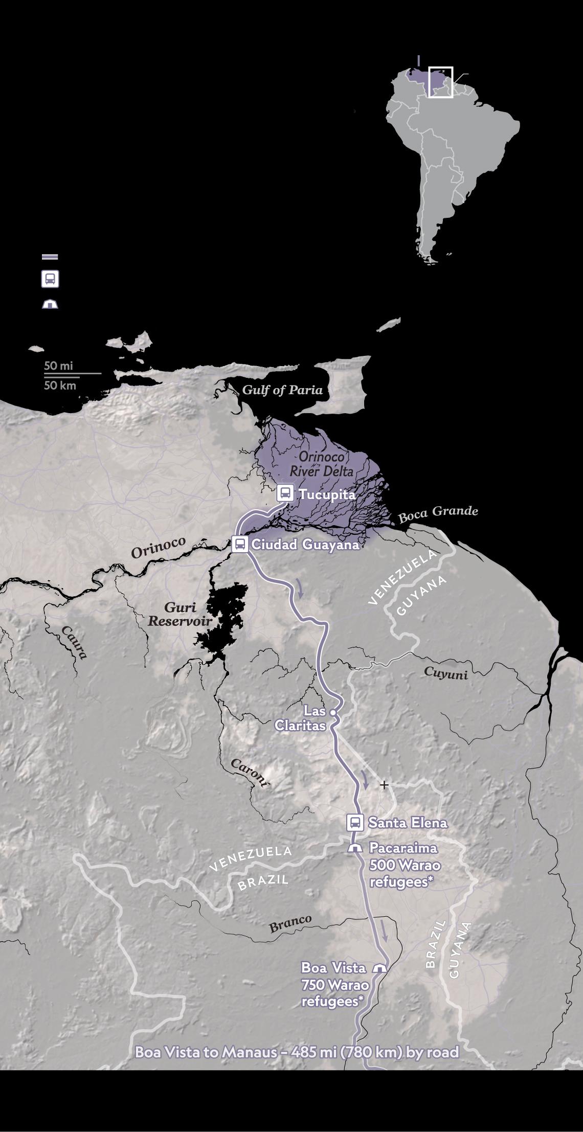 For Many Fleeing Venezuela\'s Chaos, New Trouble in Brazil