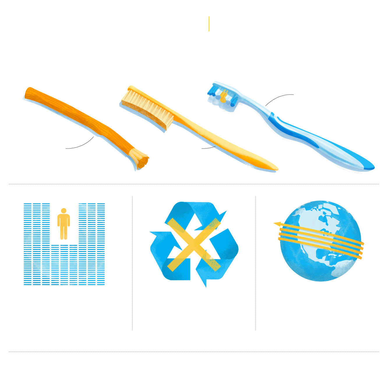 Your plastic toothbrush is a bigger problem than you realize