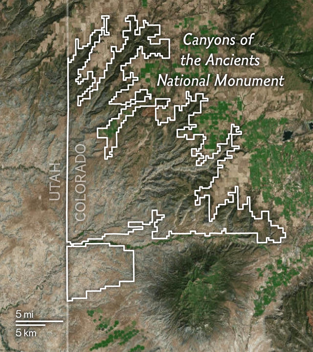 Maps Explain The National Monuments Under Review By Trump - Us president tree map