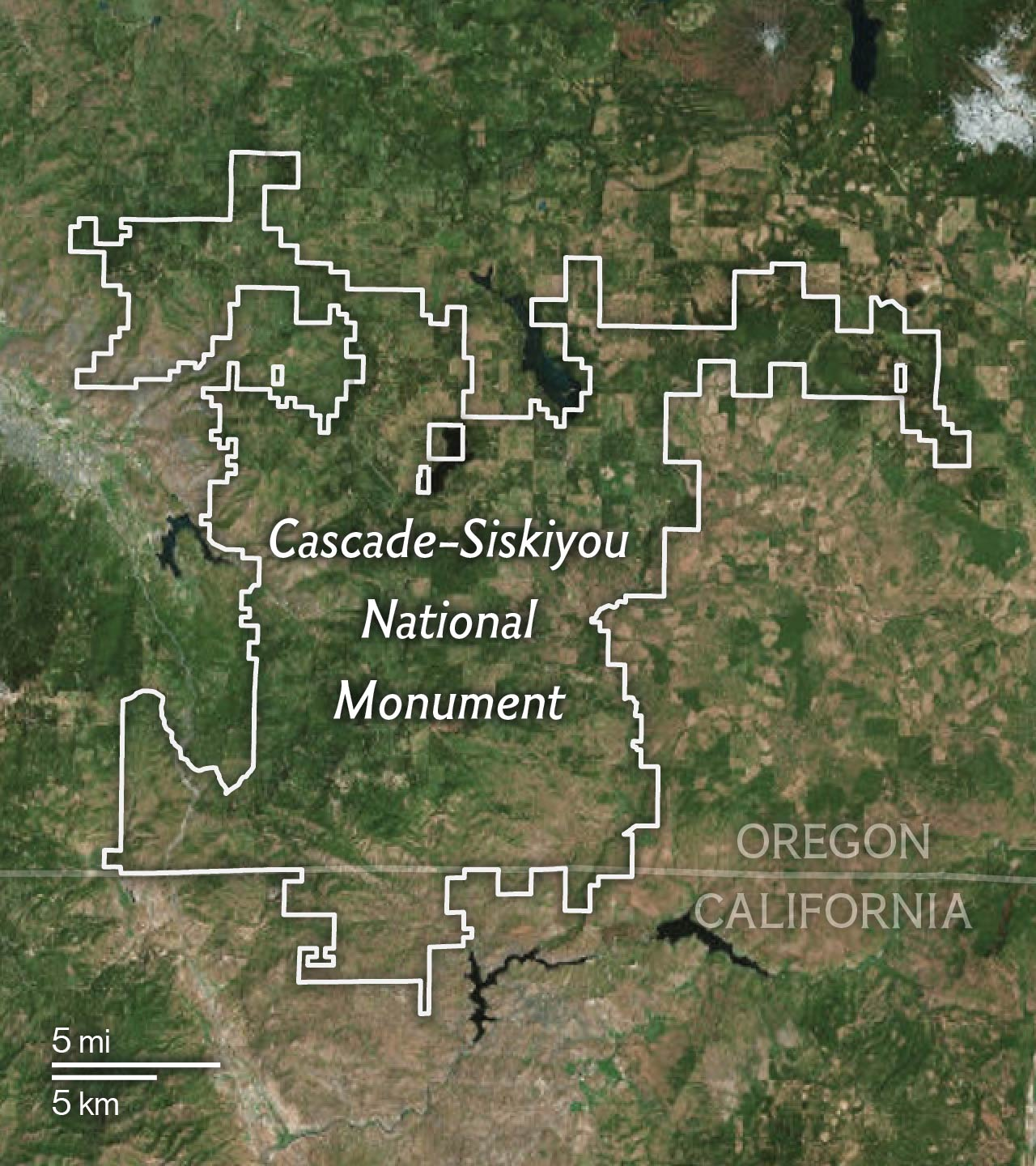 Created In 2000 By President Clinton The 100 000 Acre Monument Straddles The Oregon California Border Region Of The Cascade Range And Protects Habitat For