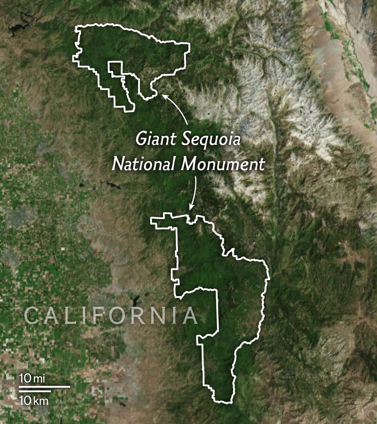 Maps Explain the 27 National Monuments Under Review by Trump