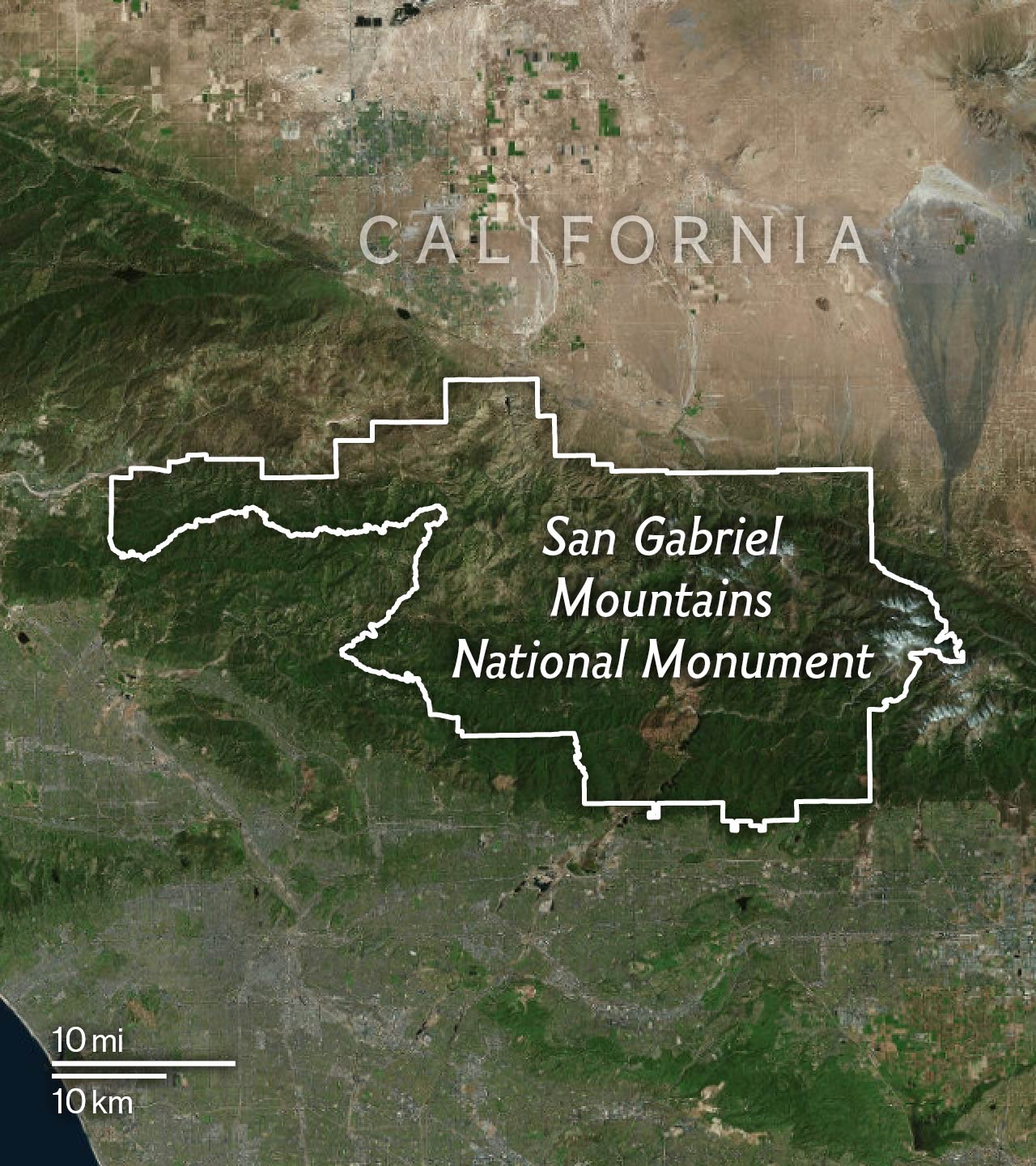 Created In 2014 By President Obama In The Mountain Forests Of Southern California This 346 000 Acre Island Of Green Provides 70 Percent Of The Open Space