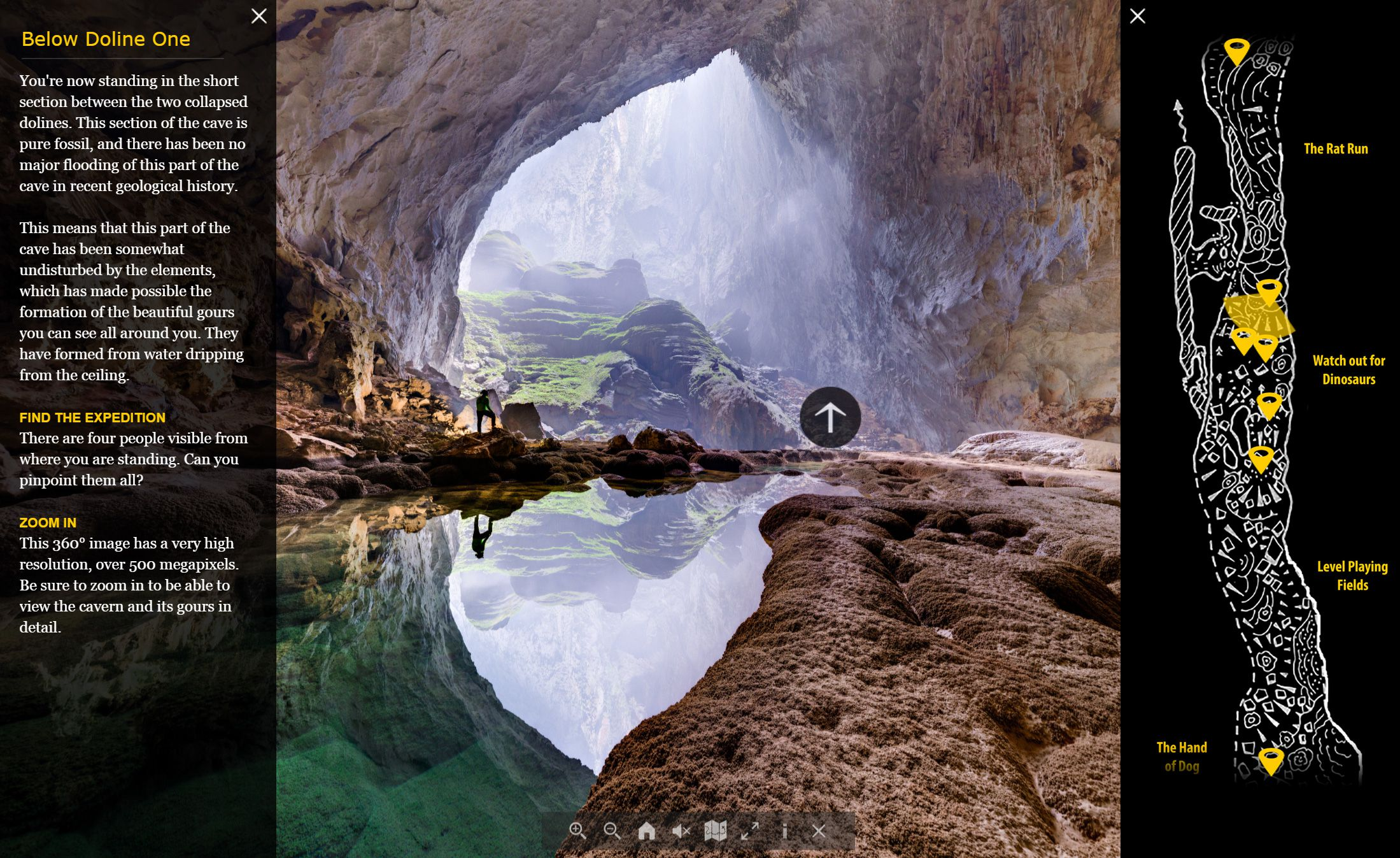 Fly Through A Colossal Cave Son Doong In 360