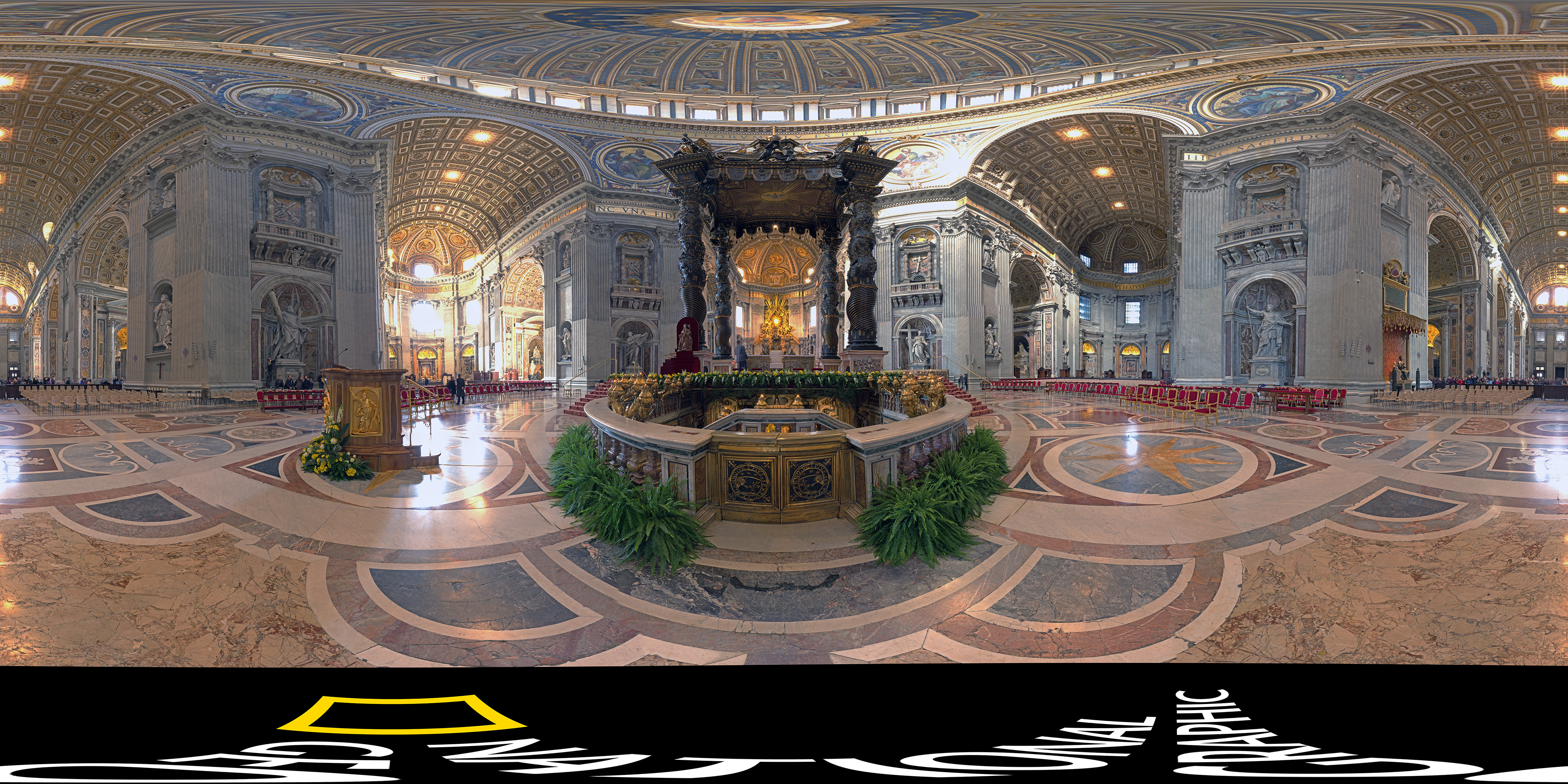 Take Amazing Tour Of St Peters In Vatican City From Your Chair - Holy see map hd