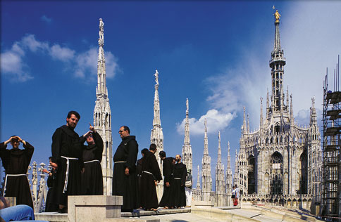 Photo: Monks in Milan