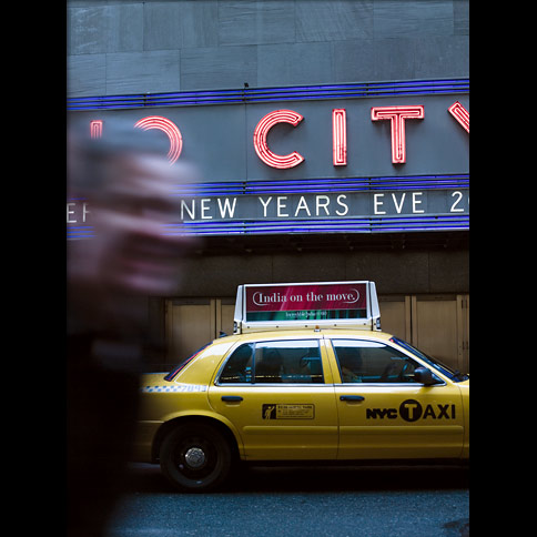 Photo: New York taxi