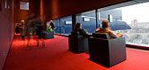 Photo: McGuire Proscenium Statge lobby at the Guthrie Theater