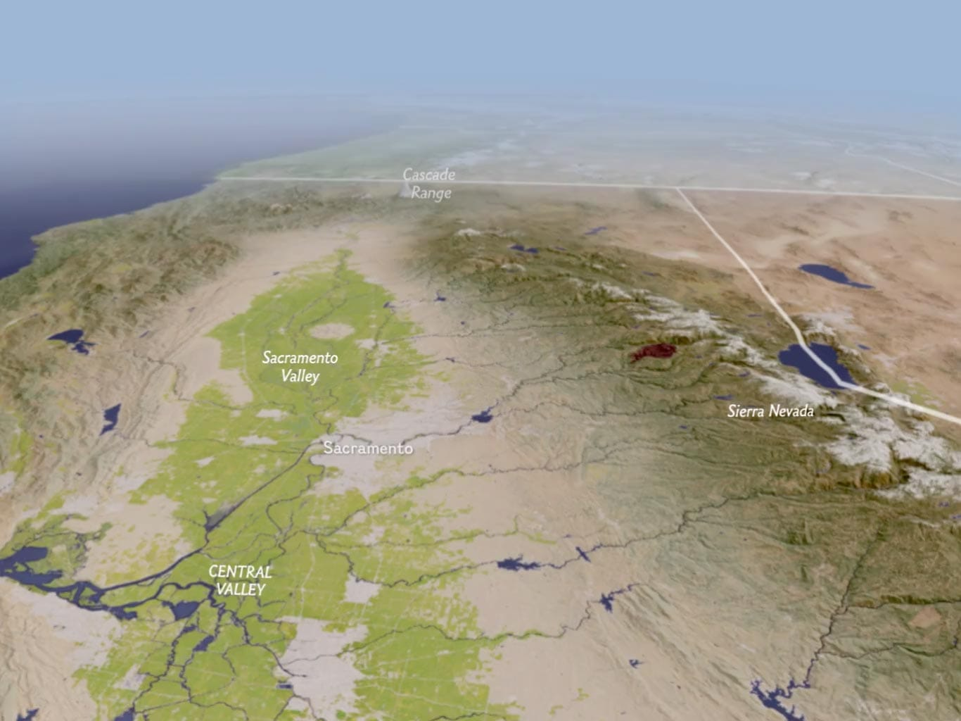 draining california national geographic